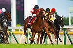FUCHU,JAPAN-MAY 27: Win Tenderness,ridden by Hiroyuki Uchida,wins the Meguro Kinen at Tokyo Racecourse on May 27,2018 in Fuchu,Tokyo,Japan (Photo by Kaz Ishida/Eclipse Sportswire/Getty Images)