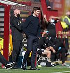 27.09.2020 Motherwell v Rangers:  Steven Gerrard