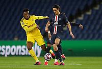 Paris St Germain's Edinson Cavani in action with Borussia Dortmund's Dan Axel Zagadou    <br /> Photo Pool/Panoramic/Insidefoto