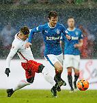 Andy Halliday attacks