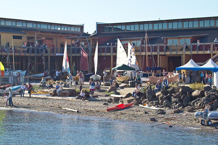 Port Townsend, Wooden Boat Festival, Port Hudson Marina, classic yachts, Washington State, Pacific Northwest, USA,