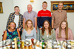 Ríona Walsh from Tralee celebrating her birthday in Bella Bia on Saturday. Seated l to r: Regina and Ríona Walsh, Louise Hayes and Clodagh Walsh. Back l to r: Rios, Brendan, Darragh and Eoin Walsh.