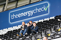 The Energy Check advertisements on the South Stand during the Sky Bet Championship match between Swansea City and Preston North End at the Liberty Stadium, Swansea, Wales, UK. Saturday 11 August 2018