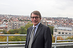BRUSSELS, BELGIUM, ALD15OCT19.-  Presidente del Parlamento Europeo David Sassoli (desde el 3 de julio de 2019). © Delmi Álvarez