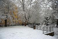 Nevicata a Roma.Snowfall in Rome...