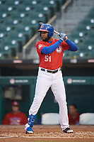 Buffalo Bisons Socrates Brito (51) at bat during an International League game against the Scranton/Wilkes-Barre RailRiders on June 5, 2019 at Sahlen Field in Buffalo, New York.  Scranton defeated Buffalo 4-0, the second game of a doubleheader. (Mike Janes/Four Seam Images)