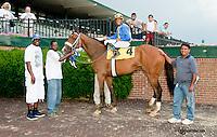Hyarima winning at Delaware Park on 6/24/13