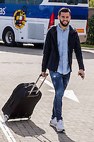 Spainsh  Nacho Fernandez arriving at the concentration of the spanish national football team in the city of football of Las Rozas in Madrid, Spain. November 08, 2016. (ALTERPHOTOS/Rodrigo Jimenez) ///NORTEPHOTO.COM