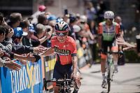Domenico Pozzovivo (ITA/Bahrain-Merida) at the race start in Vasto<br /> <br /> Stage 7: Vasto to L'Aquila (180km)<br /> 102nd Giro d'Italia 2019<br /> <br /> ©kramon
