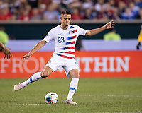 PHILADELPHIA, PA - JUNE 30: Aaron Long #23 during a game between Curacao and USMNT at Lincoln Financial Field on June 30, 2019 in Philadelphia, Pennsylvania.