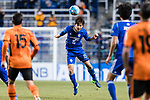 Ulsan Hyundai Defender Jung Seunghyun (C) in action during the AFC Champions League 2017 Group E match between Ulsan Hyundai FC (KOR) vs Brisbane Roar (AUS) at the Ulsan Munsu Football Stadium on 28 February 2017 in Ulsan, South Korea. Photo by Victor Fraile / Power Sport Images