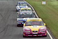 1993 British Touring Car Championship. #66 Patrick Watts (GBR). Mazda Racing Team. Mazda Xedos 6.