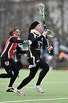 Frankfurt am Main, Germany, March 14: During the Damen 1. Bundesliga West Lacrosse match between SC 1880 Frankfurt and Duesseldorfer Hirschkuehe on March 14, 2015 at the SC 1880 Frankfurt in Frankfurt am Main, Germany. Final score 20-13 (13-8). (Photo by Dirk Markgraf / www.265-images.com) *** Local caption *** Meike Wagner #7 of Duesseldorfer Hirschkuehe