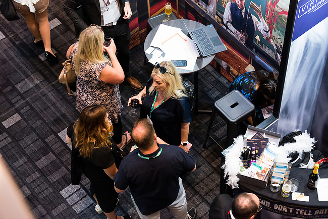 Award-winning exhibition featuring the industry's best event venues & suppliers. <br /> This is the place to be for the best Christmas Party venues and ideas, in London, Tuesday, 7th of September 2021. Photo: AMMP/Maciek Musialek