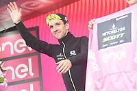 23rd May 2018, Giro D italia; stage 17 Riva Del Garda to Iseo; Mitchelton - Scott; Yates, Simon; Iseo;