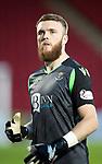 St Johnstone FC….Season 2019-20 <br />Zander Clark<br />Picture by Graeme Hart. <br />Copyright Perthshire Picture Agency<br />Tel: 01738 623350  Mobile: 07990 594431