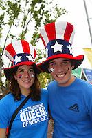 USA fans. The USA tied South Korea, 1-1, during the FIFA World Cup 2002 in Daegu, Korea.