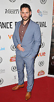 """Martin Delaney attends the """"My Hero"""" Raindance Film Festival UK film premiere, Vue Piccadilly cinema, Lower Regent Street, London, England, UK, on Friday 25 September 2015. <br /> CAP/CAN<br /> ©Can Nguyen/Capital Pictures"""