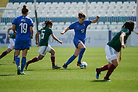 20190227 - LARNACA , CYPRUS : Italian forward Cristiana Girelli pictured during a women's soccer game between Mexico and Italy , on Wednesday 27 February 2019 at the Antonis Papadopoulos Stadium in Larnaca , Cyprus . This is the first game in group B for both teams during the Cyprus Womens Cup 2019 , a prestigious women soccer tournament as a preparation on the FIFA Women's World Cup 2019 in France and the Uefa Women's Euro 2021 qualification duels. PHOTO SPORTPIX.BE | STIJN AUDOOREN