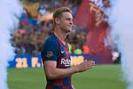 Presentation 1st team FC Barcelona 2019/2020.<br /> Frenkie de Jong.