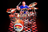 Jeff Carrico drum set promo session