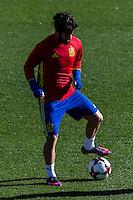 Spainsh Francisco Alarcon Isco during the training of the spanish national football team in the city of football of Las Rozas in Madrid, Spain. November 10, 2016. (ALTERPHOTOS/Rodrigo Jimenez) ///NORTEPHOTO.COM