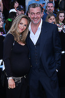 """WESTWOOD, LOS ANGELES, CA, USA - MARCH 18: Elisabetta Caraccia, Ray Stevenson at the World Premiere Of Summit Entertainment's """"Divergent"""" held at the Regency Bruin Theatre on March 18, 2014 in Westwood, Los Angeles, California, United States. (Photo by David Acosta/Celebrity Monitor)"""
