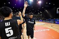 New Zealand Tall Blacks' Jordan Ngatai, FIBA World Cup Basketball Qualifier - NZ Tall Blacks v Jordan at Horncastle Arena, Christchurch, New Zealand on Thursday 29 November  2018. <br /> Photo by Masanori Udagawa. <br /> www.photowellington.photoshelter.com