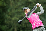 Sally Watson of Scotland tees off at the 14th hole during Round 1 of the World Ladies Championship 2016 on 10 March 2016 at Mission Hills Olazabal Golf Course in Dongguan, China. Photo by Victor Fraile / Power Sport Images