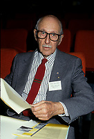 Montreal (Qc) CANADA - File Photo between 1984 and 1999 - <br /> Pierre Dansereau, circa 1993