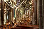 Deutschland, Nordrhein-Westfalen, Xanten: ehemalige Stiftskirche St. Viktor (Xantener Dom) - Innen | Germany, Northrhine-Westphalia, Xanten: Xanten cathedral - interior