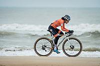 defending champion Ceylin del Carmen Alvarado (NED/Alpecin-Fenix)<br /> <br /> UCI 2021 Cyclocross World Championships - Ostend, Belgium<br /> <br /> Women's Race<br /> <br /> ©kramon