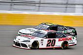 #20: Harrison Burton, Joe Gibbs Racing, Toyota Supra Dex Imaging and #11: Justin Haley, Kaulig Racing, Chevrolet Camaro LeafFilter Gutter Protection