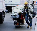 Homeless person with his cart of belongings Washington DC, homeless, Homeless person Washington DC, Fine art photography by Ron Bennett ©. Copyright, Washington DC, Fine Art Photography by Ron Bennett, Fine Art, Fine Art photo, Art Photography,