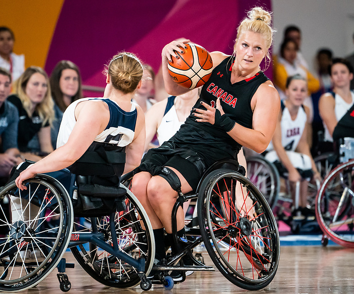 Kady Dandeneau, Lima 2019 - Wheelchair Basketball // Basketball en fauteuil roulant.<br />