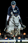 Katharina Offel of Ukraine riding Charlie in action during the Gucci Gold Cup as part of the Longines Hong Kong Masters on 14 February 2015, at the Asia World Expo, outskirts Hong Kong, China. Photo by Johanna Frank / Power Sport Images