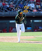 "Lazaro Armenteros / ""Lazarito"" - Oakland Athletics 2020 spring training (Bill Mitchell)"