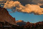 Daybreak on Pike's Peak, Colorado