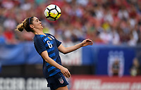Cleveland, Ohio - Tuesday June 12, 2018: Morgan Brian during an international friendly match between the women's national teams of the United States (USA) and China PR (CHN) at FirstEnergy Stadium.