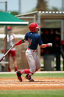 GCL Cardinals Zade Richardson (31) at bat during a Gulf Coast League game against the GCL Marlins on August 12, 2019 at the Roger Dean Chevrolet Stadium Complex in Jupiter, Florida.  GCL Marlins defeated the GCL Cardinals 9-2.  (Mike Janes/Four Seam Images)