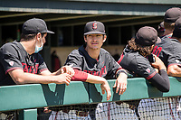 STANFORD, CA - MAY 29: Owen Cobb before a game between Oregon State University and Stanford Baseball at Sunken Diamond on May 29, 2021 in Stanford, California.
