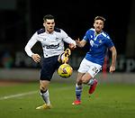 23.12.2020 St Johnstone v Rangers: Ianis Hagi controls the ball