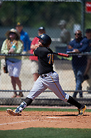 Pittsburgh Pirates Ty Moore (74) during a Minor League Spring Training game against the Philadelphia Phillies on March 23, 2018 at the Carpenter Complex in Clearwater, Florida.  (Mike Janes/Four Seam Images)