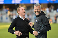 San Jose, CA - Wednesday June 28, 2017: Chris Leitch, Alex Covelo during a U.S. Open Cup Round of 16 match between the San Jose Earthquakes and the Seattle Sounders FC at Avaya Stadium.