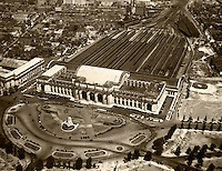 Washington DC historical aerial photography