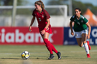 Bradenton, FL - Sunday, June 12, 2018: Kate Wiesner during a U-17 Women's Championship Finals match between USA and Mexico at IMG Academy.  USA defeated Mexico 3-2 to win the championship.