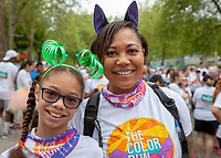 The Color Run, Seattle, Washington, USA.