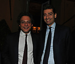 MICHEL MARTONE E ANDREA SIRONI<br /> PREMIO GUIDO CARLI - QUARTA EDIZIONE<br /> RICEVIMENTO HOTEL MAJESTIC ROMA 2013