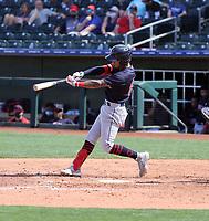 Brayan Rocchio - Cleveland Indians 2021 spring training (Bill Mitchell)
