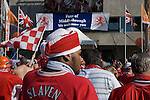 Middlesbrough 0 Sevilla 4, 10/05/2006. Philips Stadion, UEFA Cup Final. Photo by Paul Thompson. Fans gather in Eindhoven before the 2006 UEFA Cup Final. Middlesbrough 0 Sevilla 4, 10/05/2006. Philips Stadion. Photo by Paul Thompson.